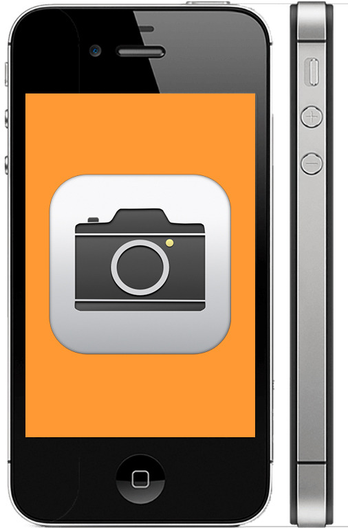 Не работает камера на iPhone 4s