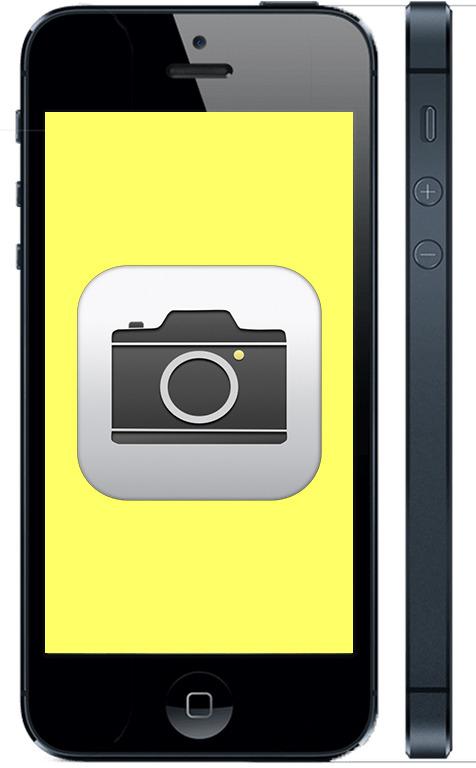 Не работает камера на iPhone 5