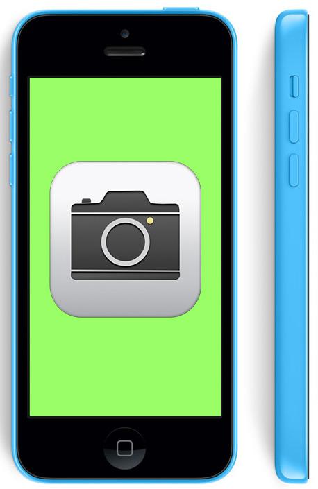 Не работает камера на iPhone 5c