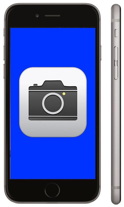 Не работает камера на iPhone 6
