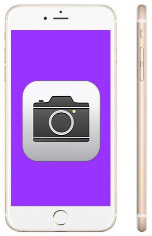 Не работает камера на iPhone Plus