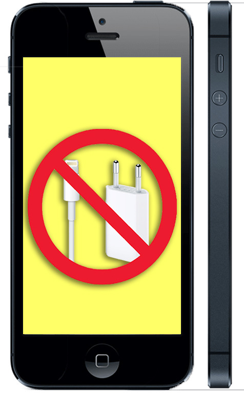 Не заряжается айфон 5