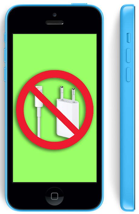 Не заряжается айфон 5c