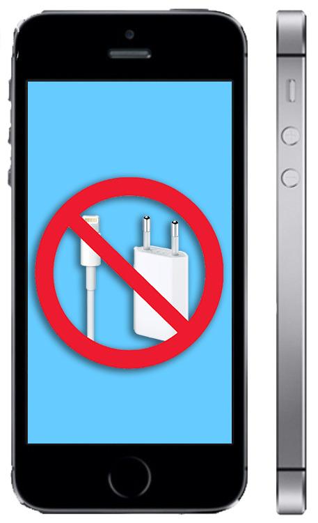 Не заряжается айфон 5s
