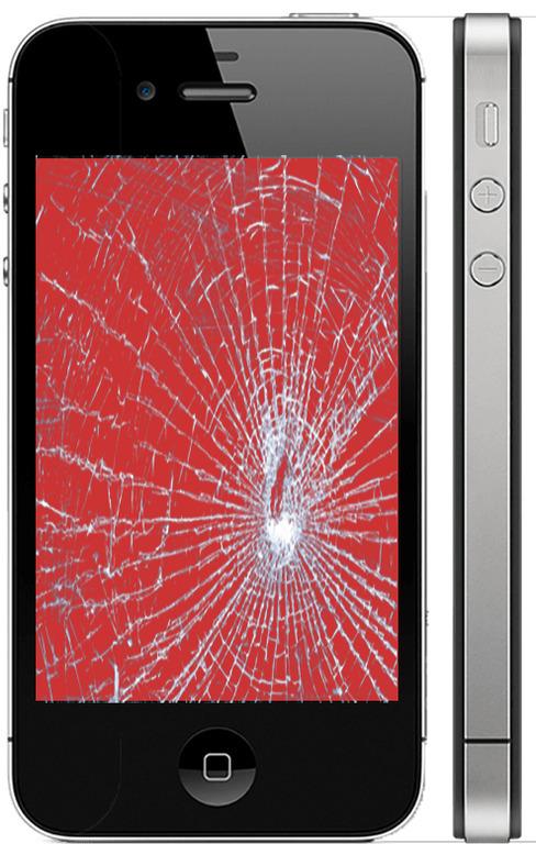 Замена стекла Айфон 4