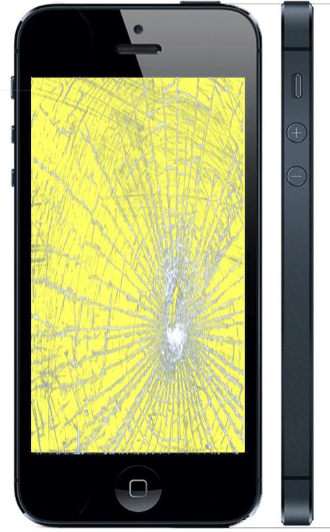 Замена стекла Айфон 5