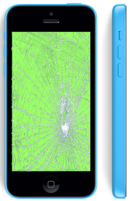 Замена стекла Айфон 5c
