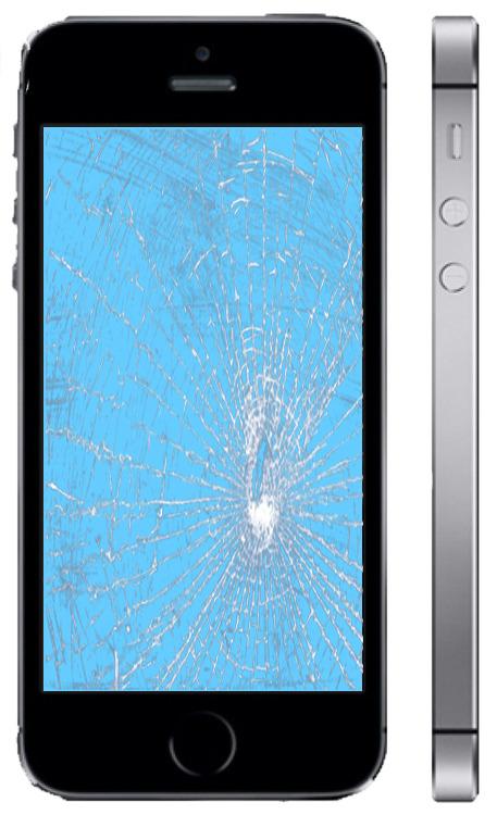 Замена стекла Айфон 5s