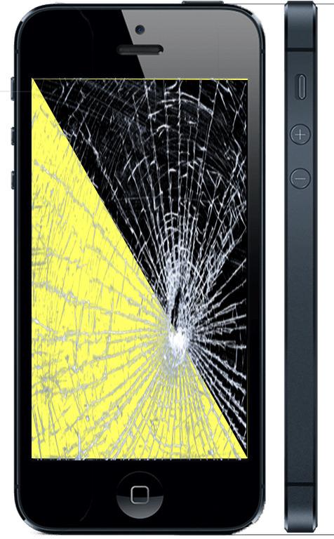 Замена экрана айфон 5